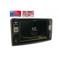 Alpine X800-ML Prémium információs és szórakoztató rendszer Mercedes-Benz ML (W164) és CL (X164) típusokhoz