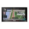 Pioneer AVIC-F80DAB autóhifi fejegység DVD / USB / iPhone // Bluetooth / Navigáció
