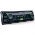 Sony DSX-A202 AUTÓRÁDIÓ, FEJEGYSÉG USB / AUX / CD zöld gomb