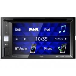 JVC KW-V255DBT Multimédiás készülék 2 DIN méretben, Bluetooth funkcióval