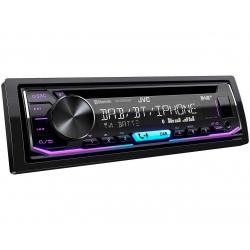 JVC KD-DB902BT DAB tuneres autórádió USB és Bluetooth funkcióval, variálható színû választógomb megvilágítással