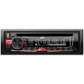 JVC KD-DB67 autórádió, fejegység USB/CD/CD-R/CD-RW/MP3/WMA/ACC Piros gombmegvilágítás