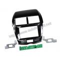 Citroen C4, Peugeot 4008 2012.04-> 2DIN Fényes fekete Autórádió beépítő keret