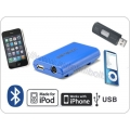 Dension Gateway Lite BT  USB, iPod, BLUETOOTH adapter SKODA (quadlock csatlakozás)